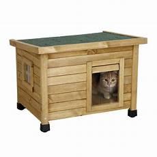 niche exterieure pour chat maison rustica kerbl niche maison pour chat wanimo