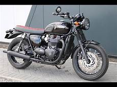 2017 triumph bonneville t120 black custom seat west