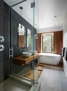 salle de bain gris bois le carrelage effet b 233 ton en 55 photos inspirantes salle
