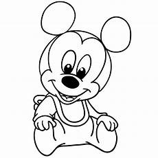 Micky Maus Baby Ausmalbilder Baby Mickey Mouse Drawing At Getdrawings Free