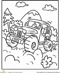 road vehicles coloring pages 16417 worksheets transportation coloring page road vehicle coloring pages kindergarten