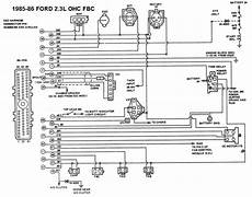 Does Anyone An 1985 Mustang 2 3l Wiring Diagram