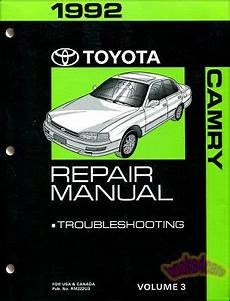 chilton car manuals free download 1992 toyota camry head up display camry 1992 toyota shop manual service repair book ebay