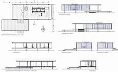 mies van der rohe house plans mies van der rohe ludwig farnsworth house plano