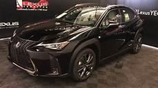 lexus ux 250h black 2019 lexus ux 250h f sport series 1 review edmonton