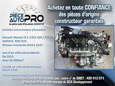 moteur renault master dci 100 moteur garanti renault master iii 2 3 dci 100 125 cv
