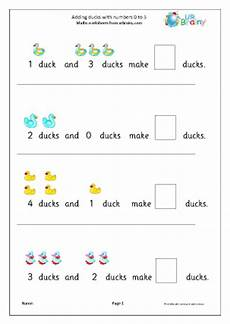 addition worksheets reception 9020 addition from 0 to 5 ducks addition maths worksheets for later reception age 4 5