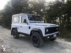 land rover occasion voiture land rover 4x4 suv defender 90 hts gazoil