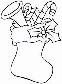 Free Christmas Stocking Drawings Download Clip Art
