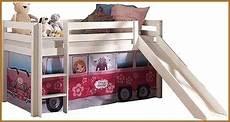 lit enfant avec toboggan inspir 233 tente pour lit mi haut