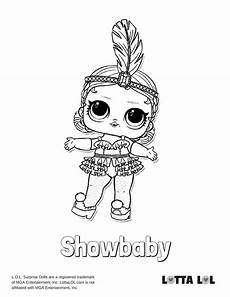 showbaby coloring page lotta lol with images poppy
