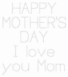 s day letter worksheets 20387 happy s day tracing page happy mothers day letter i you