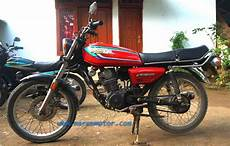 Modifikasi Motor Gl 100 by Modifikasi Honda Gl 100 Marem Motor
