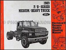 electric and cars manual 1985 ford f series parental controls 1989 ford truck cab foldout wiring diagram f600 f700 f800 ft800 ft900