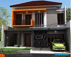 Gambar Rumah Minimalis 2 Lantai Terkesan Elegan Untuk