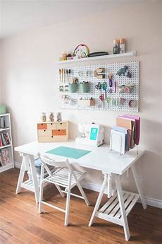 pegboard craft room organization prim posie