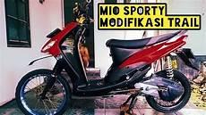 Mio Sporty Modif Trail by Mio Sporty Modifikasi Trail