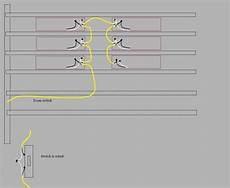 wiring diagram for fluorescent lights in series wiring six fluorescent lights to one switch