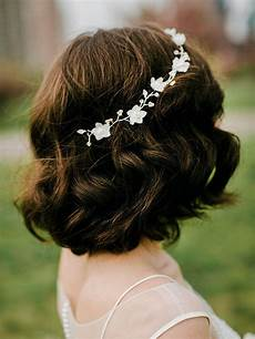 gorgeous short hairstyles for your wedding day