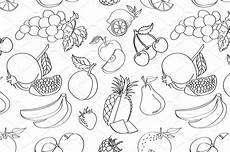 Fantastis 16 Gambar Buah Buahan Hitam Putih Pensil