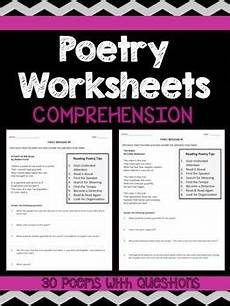 4th grade poetry reading comprehension worksheets 25454 follow me comprehension and the o jays on