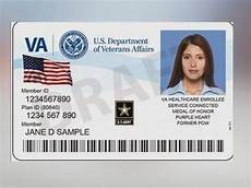 veteran id card template new va id cards restrictions and to