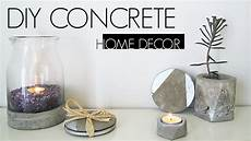 diy home decor diy concrete home decor