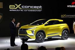 Mitsubishi EX Concept Previews Future All Electric