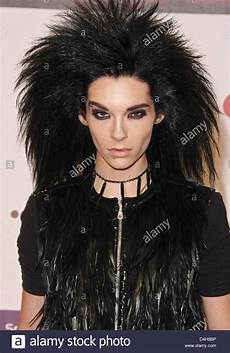 bill kaulitz of tokio hotel arrives at the 15th mtv europe