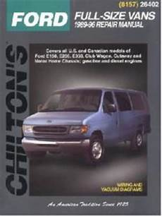 manual repair free 2009 ford e series head up display 1989 1996 ford econoline vans e series chilton s total car care manual