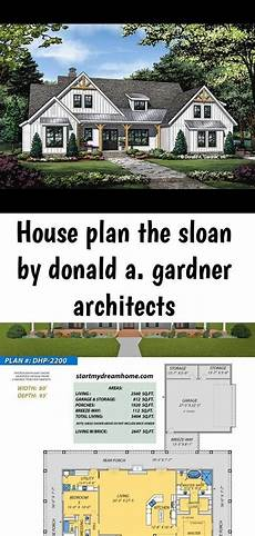 donald a gardner house plans house plan the sloan by donald a gardner architects