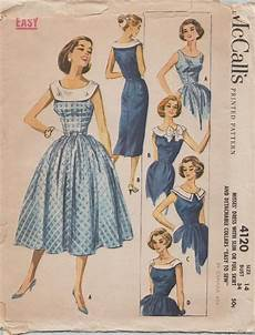 40er jahre mode mccalls 4120 vintage 50s sewing pattern by