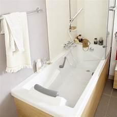 de baignoire baignoire rectangulaire l 175x l 75 cm blanc sensea