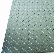 m d building products 36 in 36 in 0 025 in diamond tread aluminum sheet in silver 57307