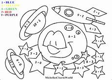 with learning subtraction coloring sheet
