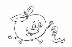 ausmalbild igel mit apfel رنگ آمیزی و نقاشی سیب های زیبا و فانتزی برای کودکان