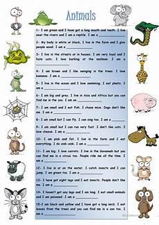 animal world worksheets 14372 animals worksheet free esl printable worksheets made by teachers
