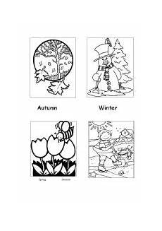 four seasons coloring worksheets 14776 seasons colouring sheet esl worksheet by millmo
