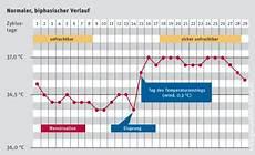 temperatur messen verhütung basaltemperaturmethode