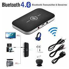 bluetooth transmitter tv test bluetooth tv adapter ebay
