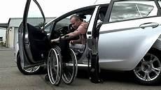 Rollstuhlgerechte Autos Rollstuhl Im Auto Transportieren