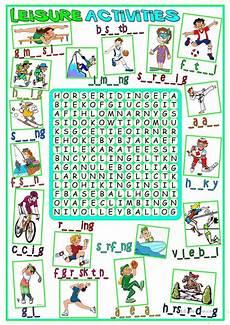 leisure time esl worksheets 3799 leisure activities wordsearch worksheet free esl printable worksheets made by teachers