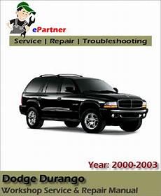 online car repair manuals free 2000 dodge durango on board diagnostic system dodge durango service repair manual 2000 2003 automotive service repair manual