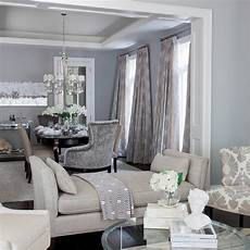 gray and blue living room contemporary dining room