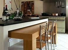 ilot cuisine table extensible