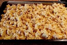 Apfelblechkuchen Mit Streusel - apfelkuchen mit krokant streuseln damaris16