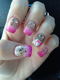 pink nail design nail designs pinterest