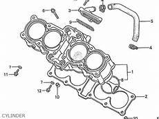honda cbr400rrj nc23 domestic parts list partsmanual partsfiche