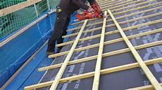 pose ecran sous toiture renovation fixation liteaunage 233 cran souple de sous toiture