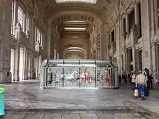 galleria delle carrozze centrale i lavori in stazione centrale